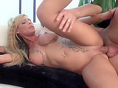 Crazy pornstar Jenna Jane in amazing big tits, facial xxx video