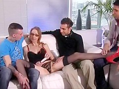 Fabulous Homemade clip with Lingerie, Gangbang scenes