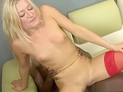 Best pornstar Heather Gables in crazy facial, interracial sex scene
