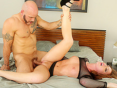 Redhead Maddy Oreilly Good Pounding On The Bed - TeenGonzo
