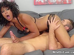 Amazing pornstars Missy Stone, Misty Stone in Incredible Natural Tits, Interracial adult video
