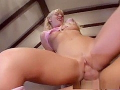 Horny pornstars Ashley Blue, Flick Shagwell and Ashley Moore in hottest blonde, brunette porn clip