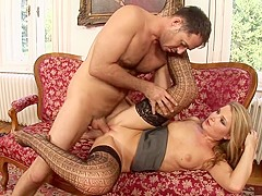 Incredible pornstar Snow Angel in exotic blonde, mature adult scene