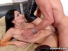 Best pornstar Aletta Ocean in Amazing Brunette, MILF porn movie
