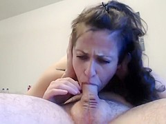 Husband's throatfuck training me (he says I can do better)
