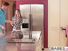 Babes - Step Mom Lessons - Kristof Cale and Gina Gerson and Kathia Nobili - Watch and Learn
