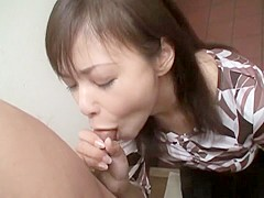 Amazing Japanese model in Horny Big Tits, Blowjob/Fera JAV clip