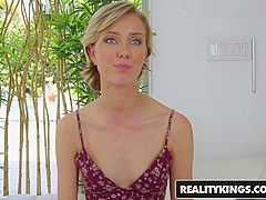 RealityKings - First Time Auditions - Bruce Venture Haley Reed - Freaky Haley