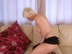 Amazing Amateur movie with Blonde, Solo scenes