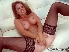 Horny pornstar Raquel Devine in Hottest Lingerie, Solo Girl sex clip