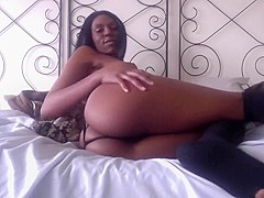 Sexy Ebony Ayla Teases The Fuck Out Of You