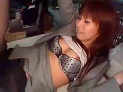 Hottest Japanese whore in Horny Fingering, Lingerie JAV scene