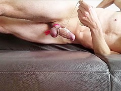 Bvdh Ends His Vibrator Session With A Hard Load