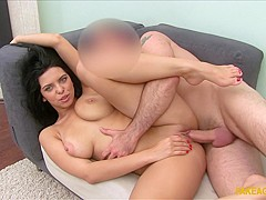 Fabulous pornstar in Exotic Brunette, College sex scene