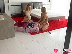 Audrey Royal and Moka Mora In Stepsisters Love To Share
