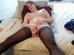 Crazy Amateur movie with Solo, Stockings scenes
