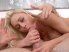 MILF Katie Morgan rides a big fat dick