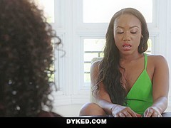 Dyked - Chanel Heart and Misty Stone Sexy Lesbian Fucking