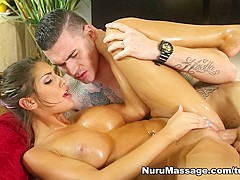 Incredible pornstar August Ames in Exotic Blowjob, Big Tits adult movie