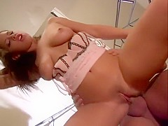 Exotic pornstar Haley Paige in fabulous anal, big tits sex movie
