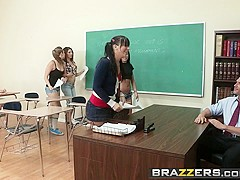 Brazzers - Big Tits at School - Alexis Ford Johnny Sins - Teaching Mr. Sins