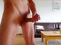 Bvdh Lovely Solo Jerk Session With Lube & Cum