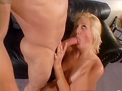 Incredible pornstar Stacy Thorn in best blonde, facial adult video