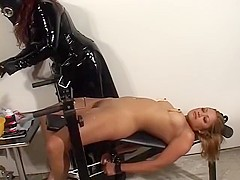 Horny pornstars Madame Noir and Maxine X in exotic fetish, asian xxx clip