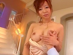 Incredible Japanese slut in Best Handjobs, POV JAV clip
