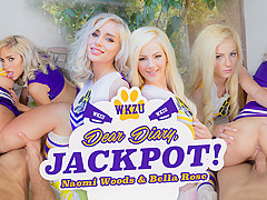 Bella Rose & Naomi Woods in Dear Diary, Jackpot! - WankzVR