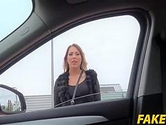 Mia Blow In Tattooed German rides strangers cock