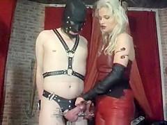 Amazing amateur Femdom, Fetish porn clip