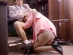 Exotic Japanese girl Ai Mizuno in Fabulous Stockings/Pansuto, Vintage JAV scene