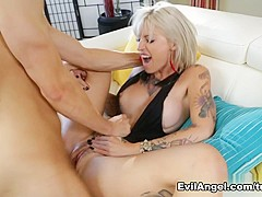 Fabulous pornstars Kleio Valentien, Erik Everhard in Exotic Big Ass, Blonde sex movie