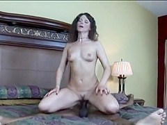 Fabulous pornstar Syren De Mer in incredible brunette, interracial porn video