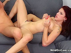 Onyx Muse in Fucking Little Onyx - WildOnCam