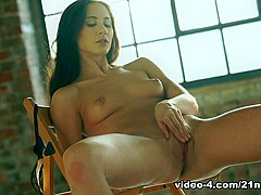Incredible pornstar Aruna Aghora in Amazing Masturbation, Brunette sex scene