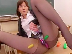 Horny Japanese model Nanako Mori in Amazing Masturbation/Onanii, Cougar JAV movie