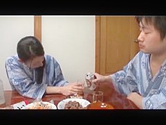 Japonese mature have affair with young lover