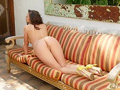 Hottest pornstars Snow White, Emily Bloom in Incredible Big Tits, Softcore adult video
