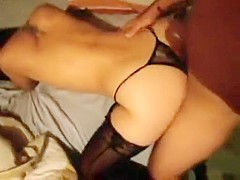 Brunette get fuck that is hard by her partner