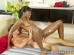 Exotic pornstar Logan Pierce in Fabulous Black and Ebony, Cumshots sex movie