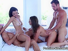 Amazing pornstars Lily Love, Dillion Harper, Lilli Love in Best Cunnilingus, Pornstars porn video