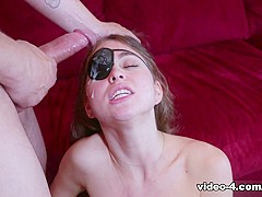 Best pornstar Riley Reid in Exotic Small Tits, Redhead sex scene