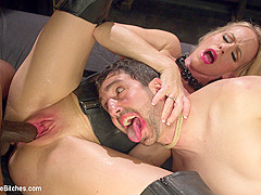 Simone Sonay & Jay Wimp & Jason Brown in Mrs. S Cuckolds Her Slave With Big Black Alpha Cock - Divin