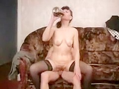 Horny Homemade record with Mature, Stockings scenes