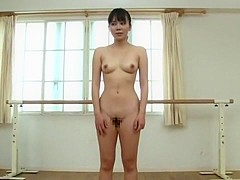 Crazy Japanese chick Yui Tsubaki in Hottest Sports, Striptease JAV clip