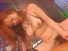 Hottest Japanese girl Risa Arisawa in Amazing Lingerie, Big Tits JAV video