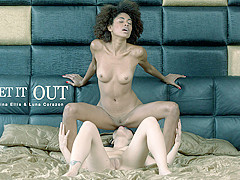 Luna Corazon & Rina Ellis in Let It Out - BabesNetwork