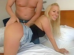 Best pornstar Carla Cox in fabulous small tits, blowjob adult movie